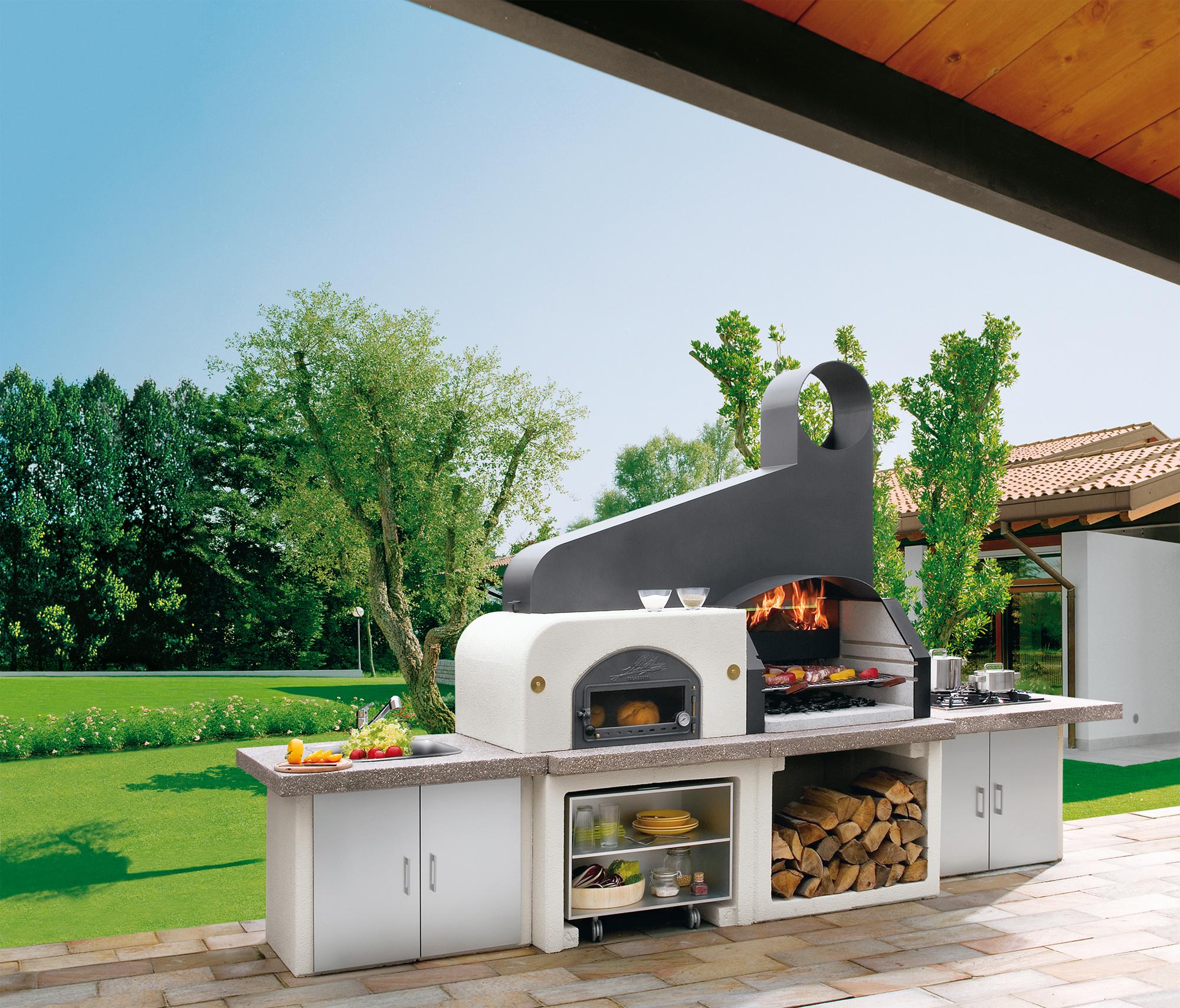 Gartenküche und Outdoorküche - Grillen im Garten