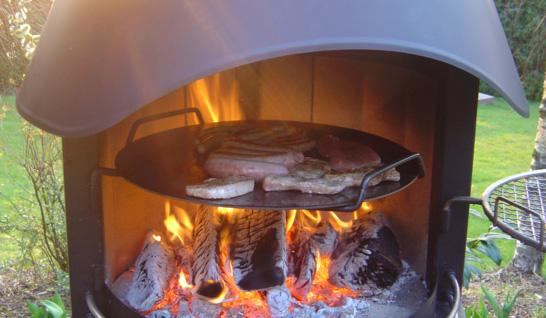 Grillkamin Zubehör Steakpfanne Für Typ 2 Girse Gartenkamin