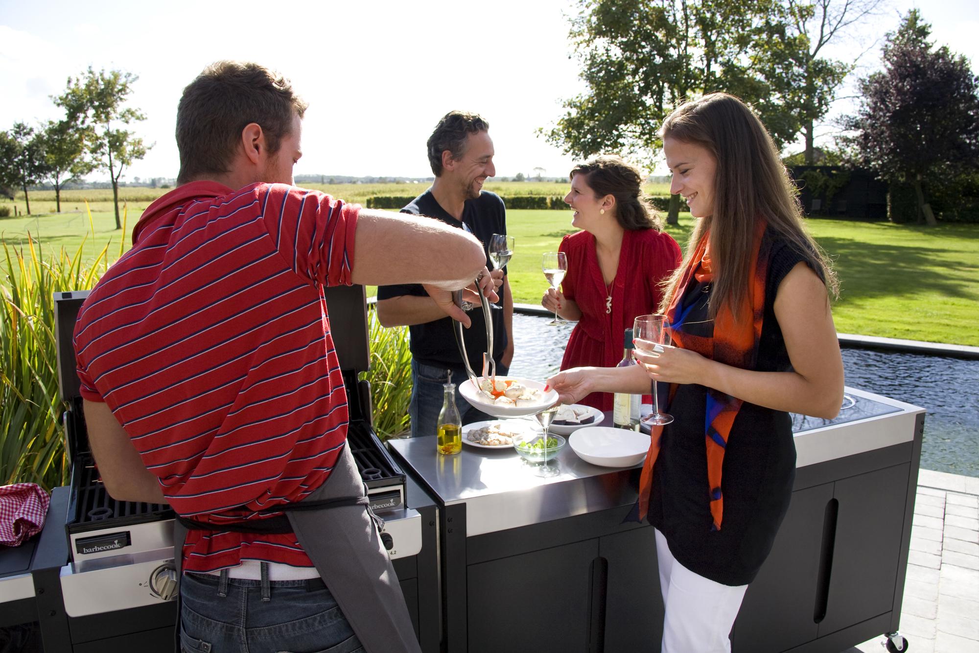 Outdoorküche Mit Spüle Zubehör : Rieber gastro edelstahl er spüle höhenversetzt outdoorküche in