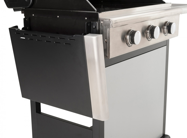 landmann gasgrill triton 3 silber. Black Bedroom Furniture Sets. Home Design Ideas