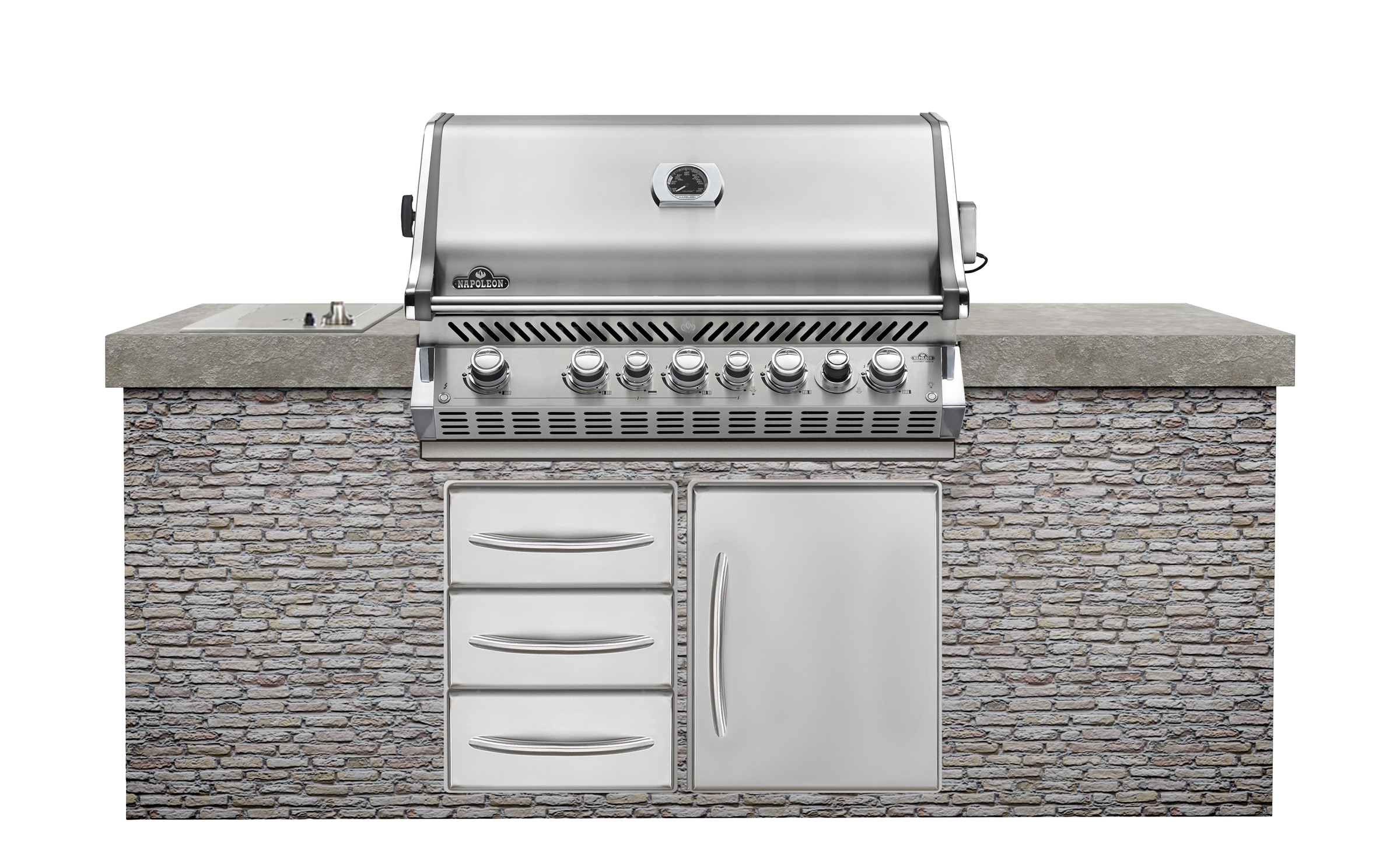 Kitchen Island With Grill