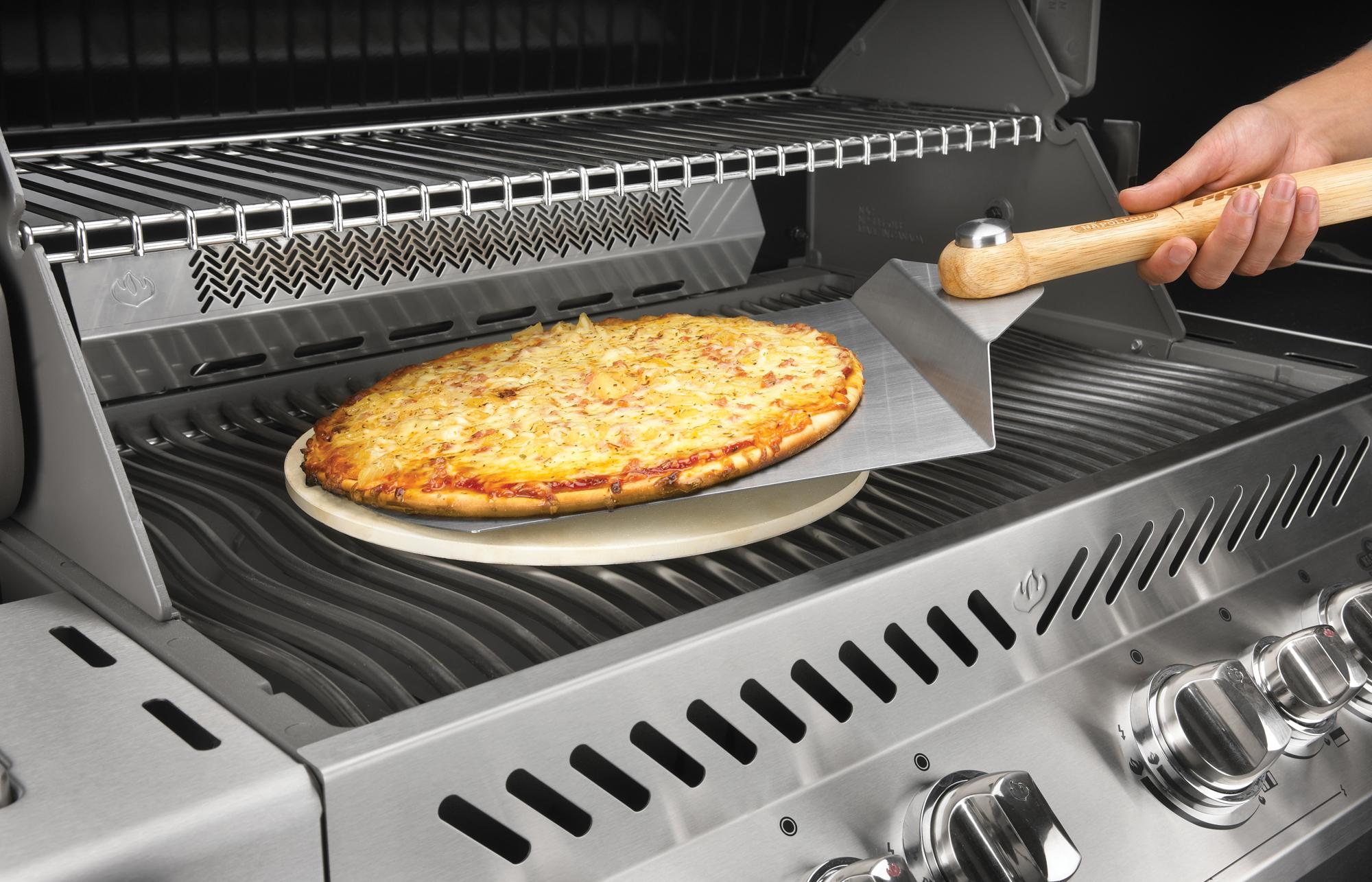Pizzastein Für Gasgrill Landmann : Pizzastein und pizza zubehör für den grill