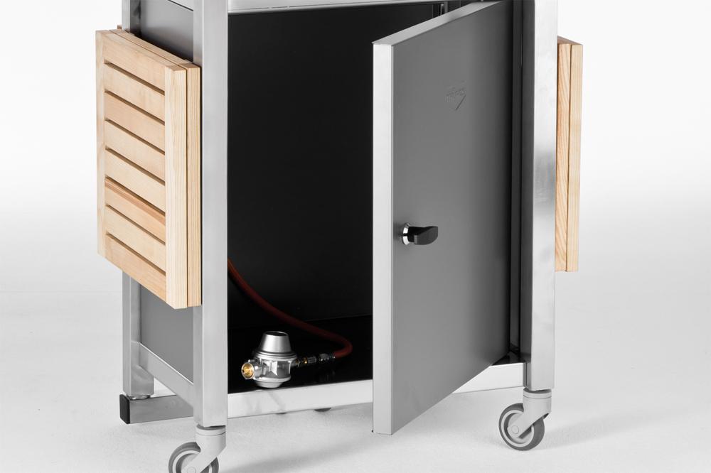 der teppanyaki gasgrill steht f r japanisches grillen. Black Bedroom Furniture Sets. Home Design Ideas