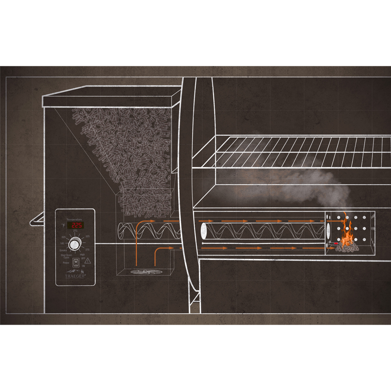 traeger century 34 pellet grill. Black Bedroom Furniture Sets. Home Design Ideas