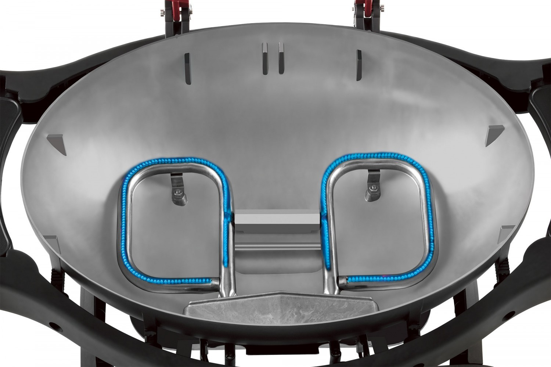 Weber Elektrogrill Untergestell : Ziegler brown ziggy twin grill rot mit untergestell