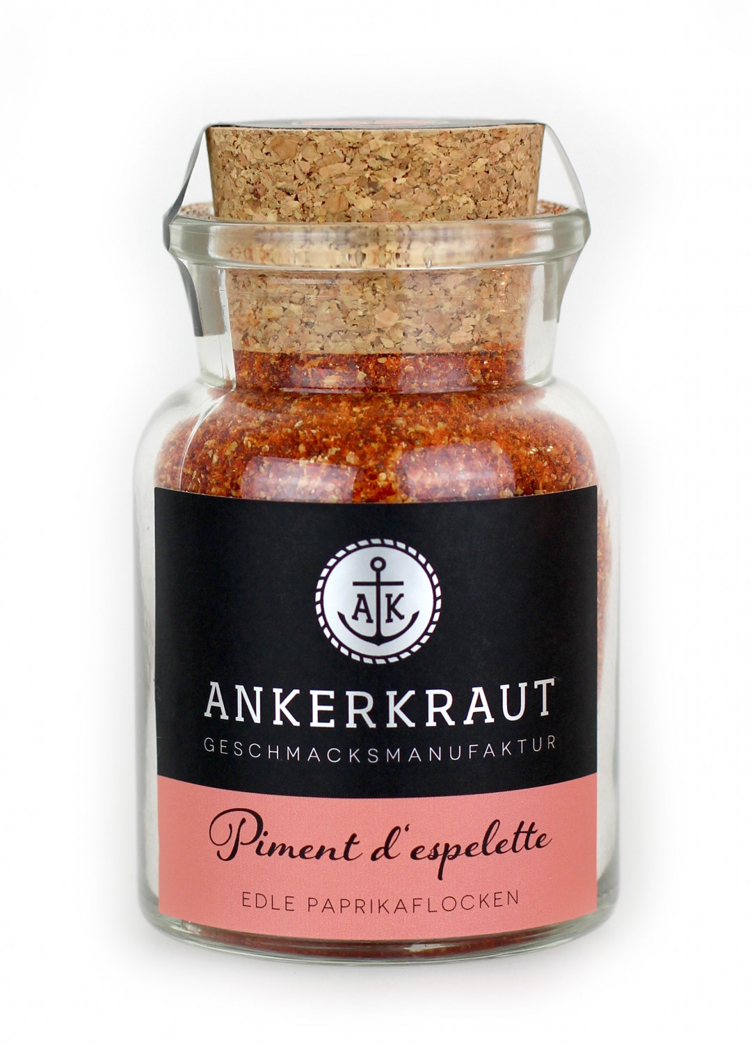 ankerkraut piment d 39 espelette edel chili 80 g glas. Black Bedroom Furniture Sets. Home Design Ideas
