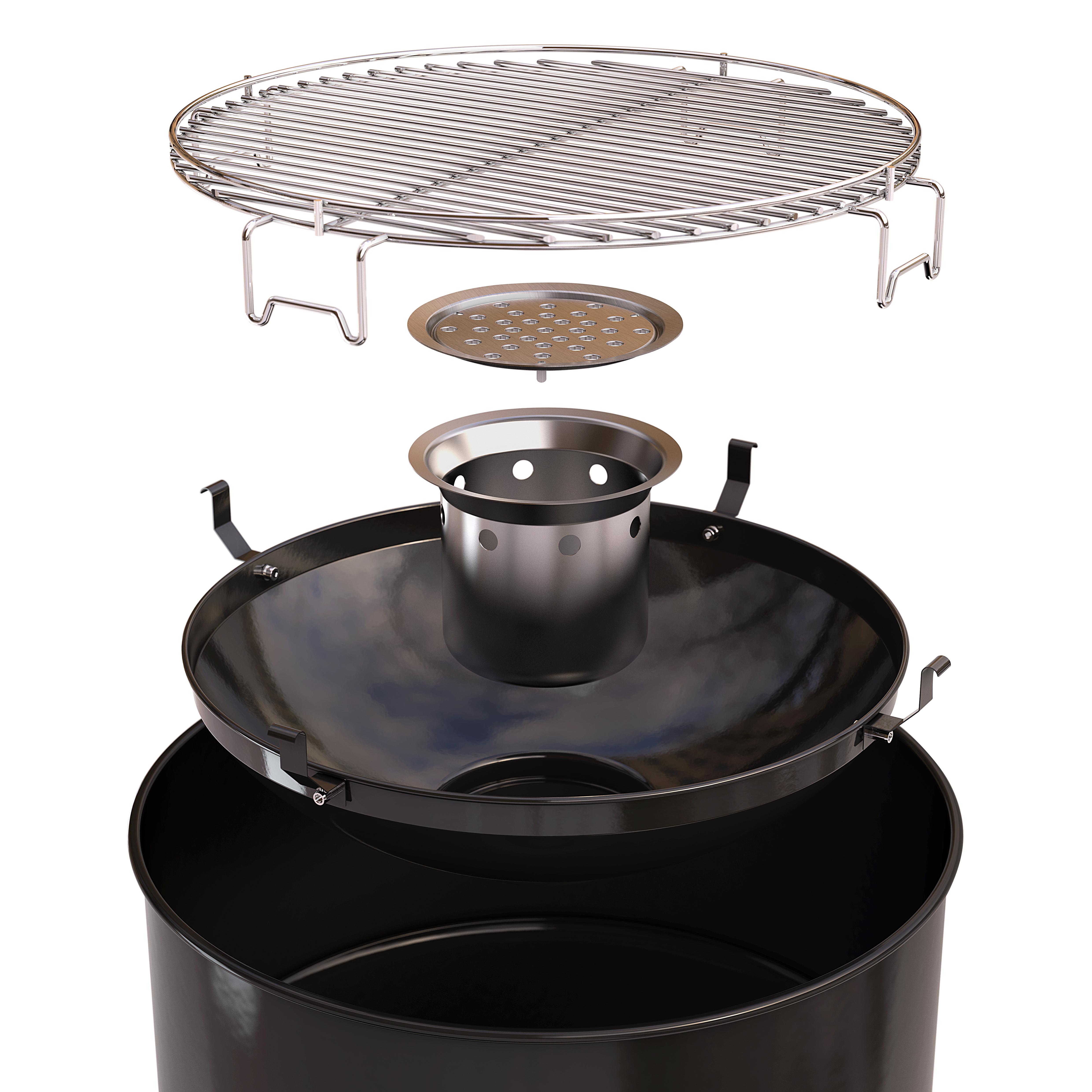 barbecook grilltonne edson black neu 2016. Black Bedroom Furniture Sets. Home Design Ideas