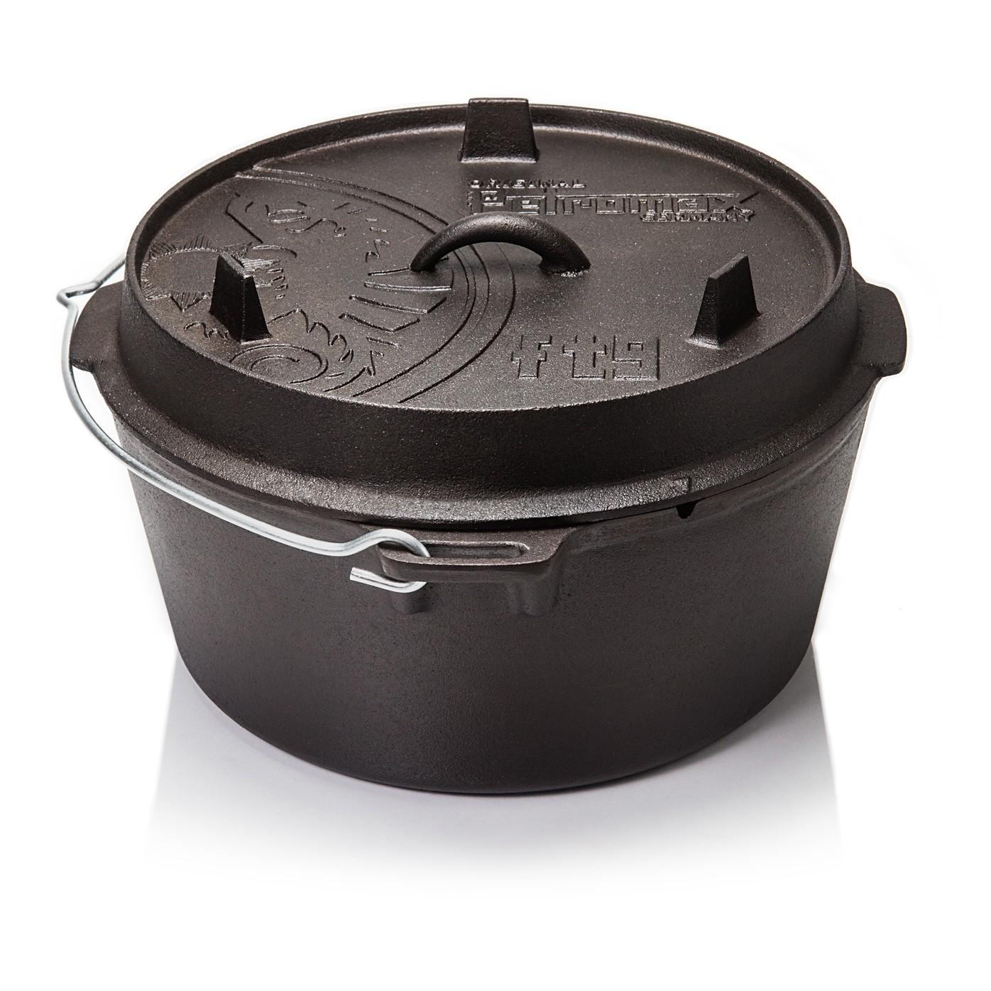 petromax ft9 t feuertopf 8 5 liter dutch oven ohne f e. Black Bedroom Furniture Sets. Home Design Ideas