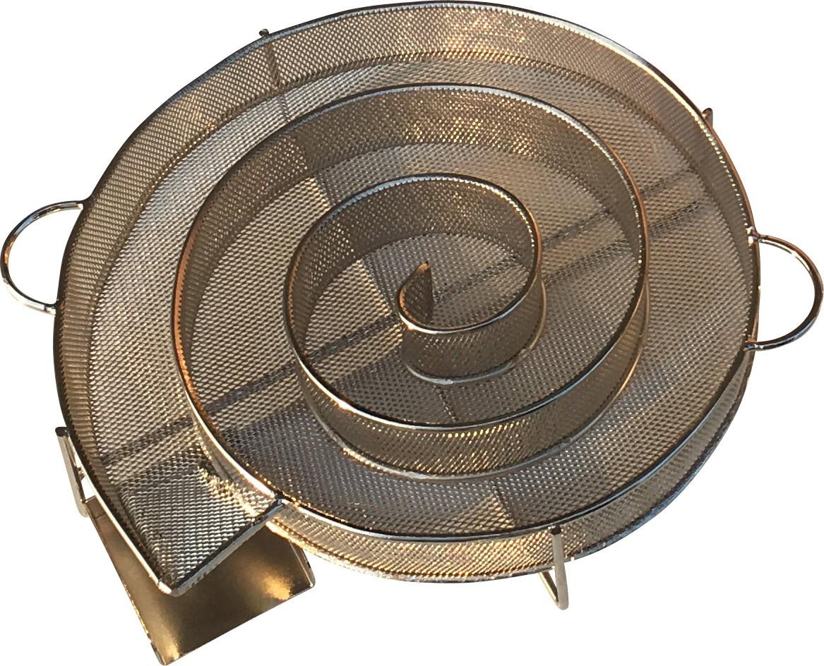 kaltrauchgenerator 21cm r ucherschnecke als sparbrand zum smoken. Black Bedroom Furniture Sets. Home Design Ideas