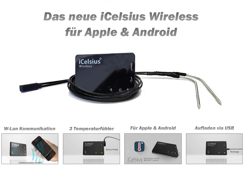 iCelsius Wireless Deutschland