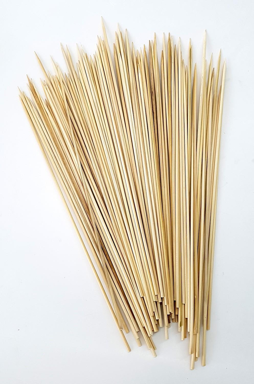 schaschlikspieße 30cm, 100st., bambusholz