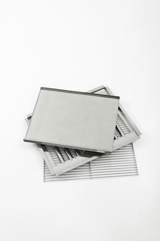 landmann grillset edelstahl 00444 f r gasbr ter gastrobr ter. Black Bedroom Furniture Sets. Home Design Ideas
