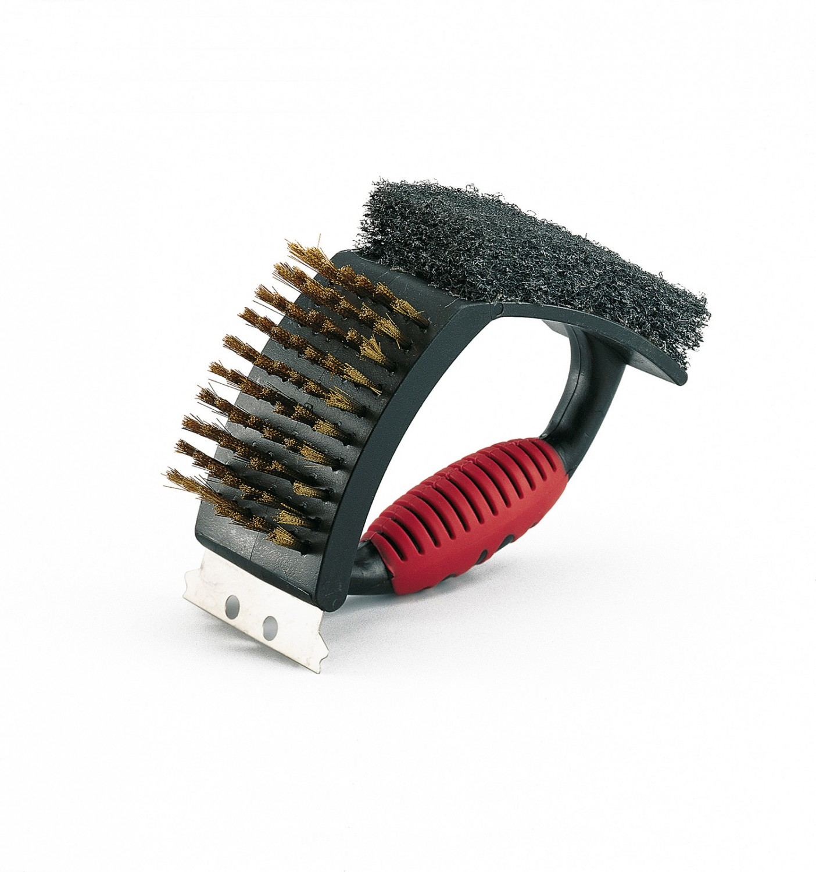 landmann grillreinigungsb rste 3in1 stabil 02076. Black Bedroom Furniture Sets. Home Design Ideas