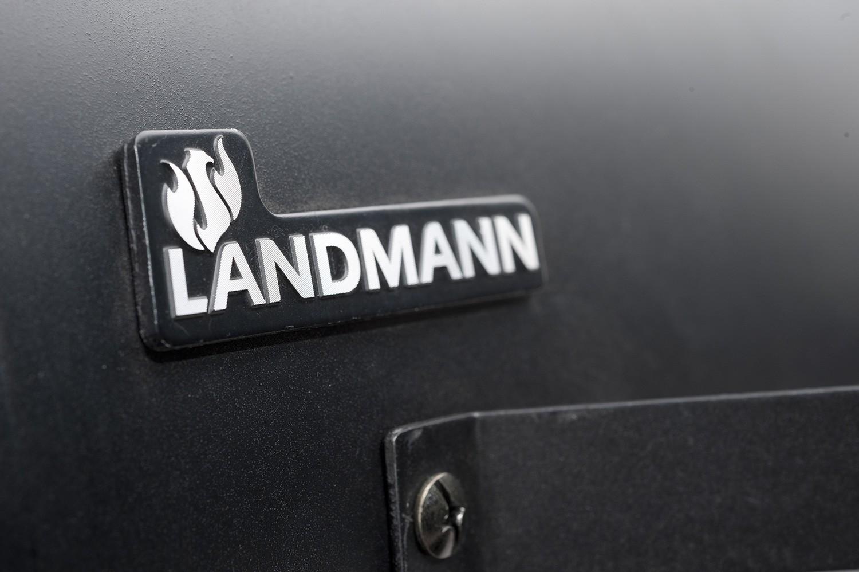 Landmann Holzkohlegrill Black Taurus 440 : Landmann holzkohlegrillwagen black taurus b ware