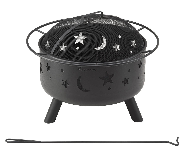 Landmann Holzkohlegrill Ersatzteile : Landmann feuerkorb landmann stars moon