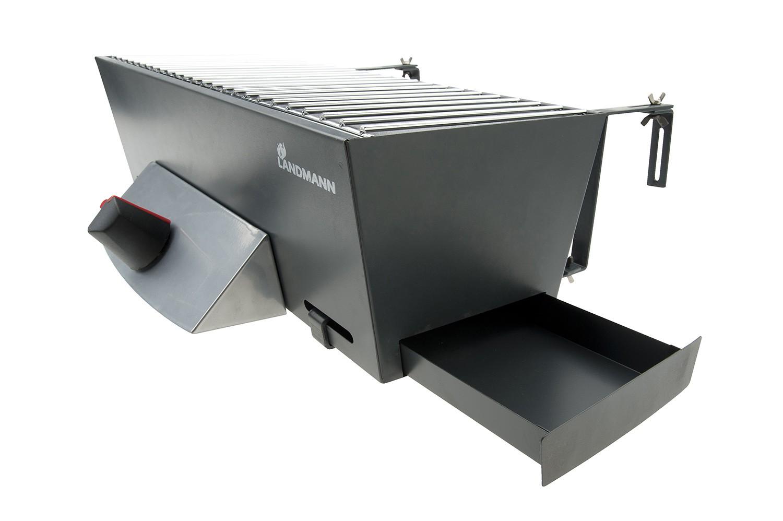 Landmann Holzkohlegrill Balkon : Landmann gas balkongrill 12900