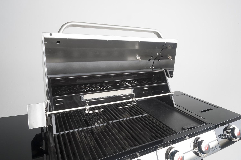 Landmann Gasgrill Gastro : Landmann gasgrillküche avalon pts mit infrarotbrennern