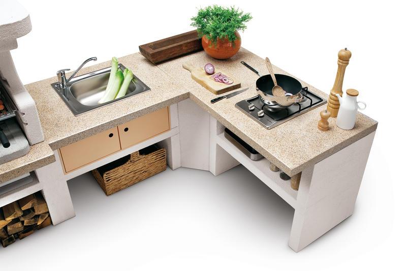 Outdoor Küche Gartenhaus : Küchen mix modulare outdoorküche von ocq bild schÖner wohnen