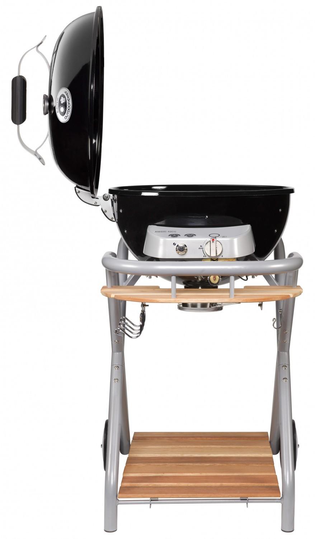 outdoorchef gas kugelgrill ambri 480 g schwarz set mit gussrost m kaufen. Black Bedroom Furniture Sets. Home Design Ideas