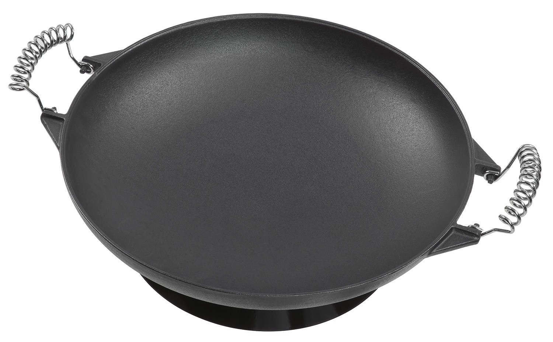 Landmann Gasgrill Wok : Universal wok aus gusseisen 35 cm