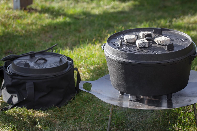 petromax feuertopf ft18 17 3 liter dutch oven mit f en kaufen. Black Bedroom Furniture Sets. Home Design Ideas