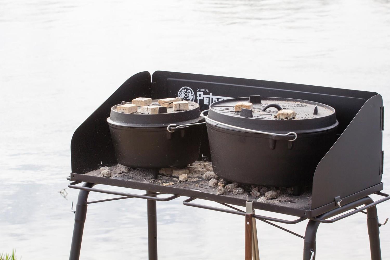 Petromax Feuertopf Tisch fe90 für Dutch Oven Outdoor Kochen Grilltisch