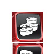 Lava Vakuum Behälter & universal Deckel