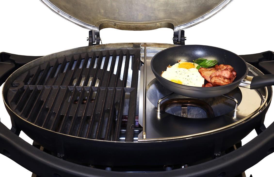 Wok Für Gasgrill : Ziegler & brown twin grill wok und pfannenhalter kaufen