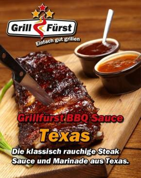 Grillfürst BBQ Sauce Texas