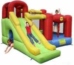 Hüpfburg HappyHop Play Center 6 in 1 mit 10,8 m² + Gebläse W4E