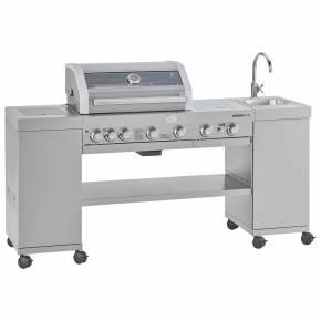 Rösle BBQ-Kitchen Videro G4-SK VARIO+ Edelstahl - Modell 2021