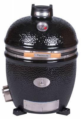 Monolith Grill CLASSIC BBQ GURU - PRO-Serie 2.0 Schwarz - OHNE Gestell und Seitentische