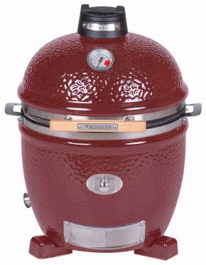 Monolith Grill Junior PRO Serie 2.0 Rot - OHNE Gestell