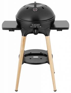 CADAC Gasgrill Citi Chef 40 FS BBQ / Dome matt black, 50 mbar