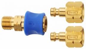 CADAC Schnellkupplung für Gasanschluss für 2 Abnehmer
