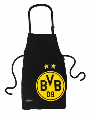 Grillfürst Grillschürze mit Tasche - Borussia Dortmund Edition in Geschenkverpackung