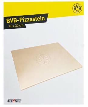 Grillfürst Pizzastein rechteckig 40 x 30 cm - Borussia Dortmund Edition