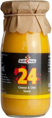 Grillfürst BBQ Sauce No. #24, Cheese & Chili Sauce