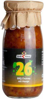 Grillfürst BBQ Sauce No. #26, BBQ Chutney mit Mango