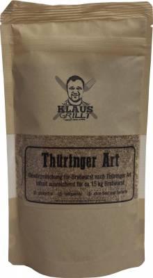 Bratwurst Thüringer Art Gewürzmischung 150 g Beutel by Klaus grillt