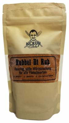 Rubbel Di Rub 250 g Beutel by Klaus grillt