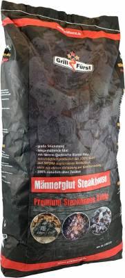 Männerglut Steakhouse Kohle 10kg / Restaurant Holzkohle