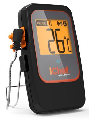 Maverick BT-600 Extended Range Bluetooth - Grillthermometer - iChef - mit 2 Temperaturfühlern