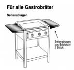2 Seitenablagen für 1-6 Brenner Gastrobräter TGO
