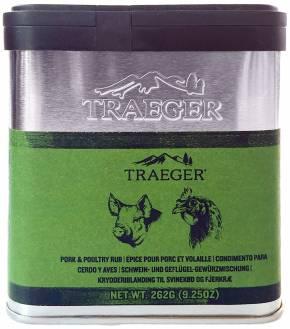 Traeger BBQ Rub - Pork & Poultry Rub, 262 g