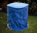 Landmann Stapelstuhlhülle blau, rund, 90x150cm 70352 - Abverkauf