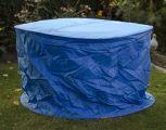 Landmann Tischhülle blau, rund, 125x90cm 70353 - Auslaufmodell