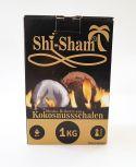 Shi-Sham Briketts aus Kokosnussschalen 1kg