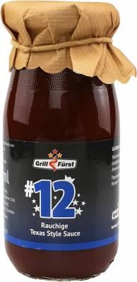 Grillfürst BBQ Sauce No. #12, die rauchige Texas Style Sauce