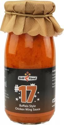 Grillfürst BBQ Sauce No. #17, die Buffalo Style Chicken Wing Sauce